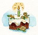 CakeYellowRoses2