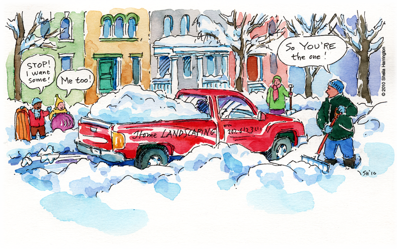 SnowDelivery