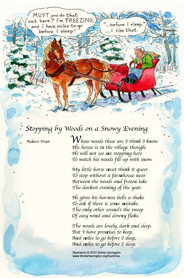 SnowyEvening