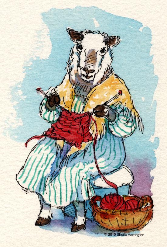 SheepKnitting1