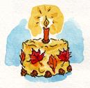 CakeAutLeaves