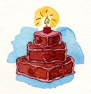 CakeChocSquares