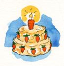 CakeCarrots