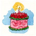 CakeStrawberries