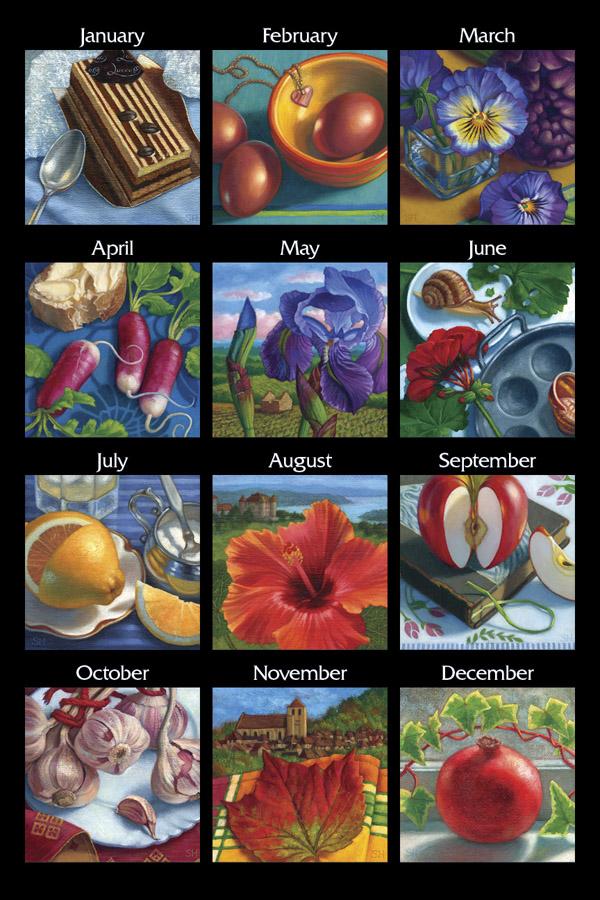 Calendar2016Months600